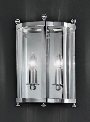 Franklite LA7000/2 Chrome Wall Light